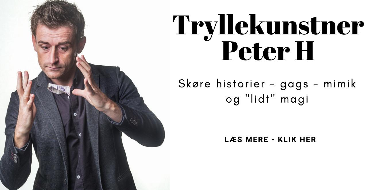 Trylleshow med Peter h